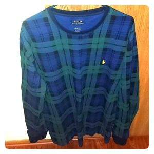 XXL Mens Polo Flannel style Thermal
